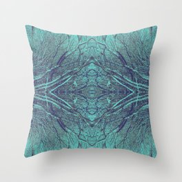 Breaking Through the Wall Throw Pillow