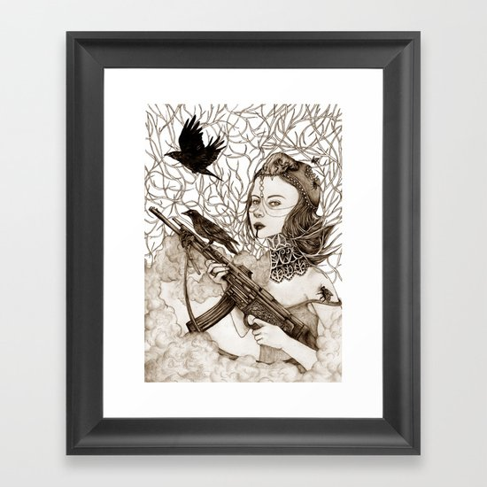 Wild Spirit Framed Art Print