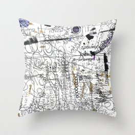 Hootenanny Throw Pillow