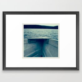 rowboat Framed Art Print