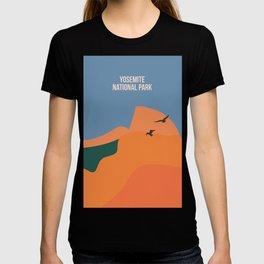 Limitless Boundaries In The Yosemite National Park T-shirt