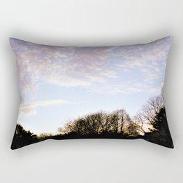 Shadow Sunset Rectangular Pillow