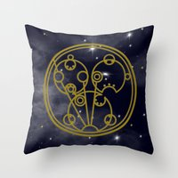 sydney Throw Pillows featuring Sydney by JEDArts by J. Eric Dunlap