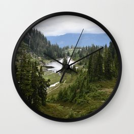 Forest and the Trees Wall Clock