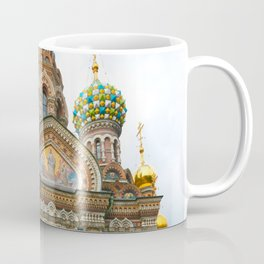 St Petersburg Russia Church Coffee Mug