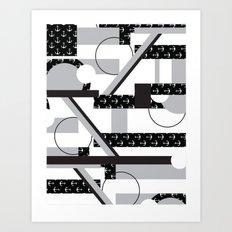 Foster Art Print