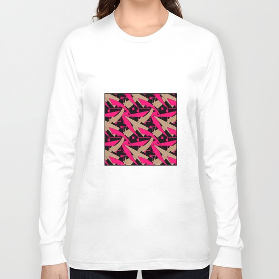 Creative abstract pattern . Geometric shapes .4 Long Sleeve T-shirt