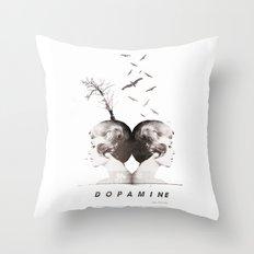 Dopamine | Collage Throw Pillow