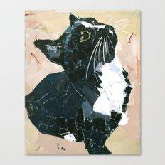 Lady Speedstick Kitty Canvas Print