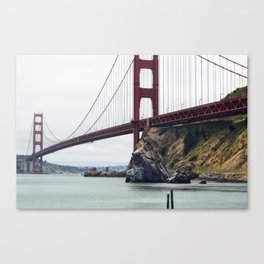 Crossing into Sausalito Canvas Print