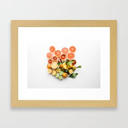 Sweet & Sour Framed Art Print