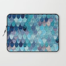 SUMMER MERMAID DARK TEAL Laptop Sleeve