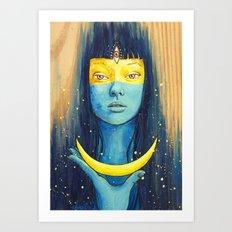 Wisdom of Luna Art Print