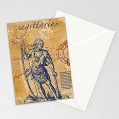 sagittarius   schütze Stationery Cards
