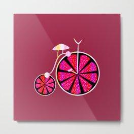 Fruity ride Metal Print