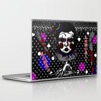 clown Laptop & iPad Skins featuring CLOWN by AKIKO