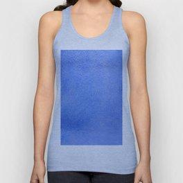 Azure watercolor Unisex Tank Top