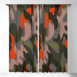 Camouflage 3 Blackout Curtain