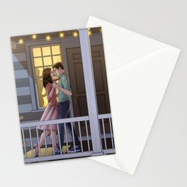 Fitzimmons - Dancing at Night Stationery Cards