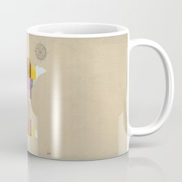 Minnesota state map  Coffee Mug