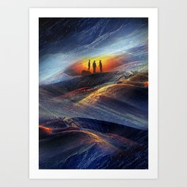 Uranus Children Art Print