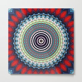 Recreational Maylanta Mandala 1 Metal Print