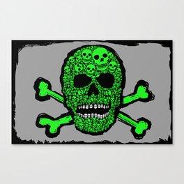 Musca Head Dead Canvas Print