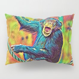 AnimalColor_Chimpanzee_007_by_JAMColors Pillow Sham