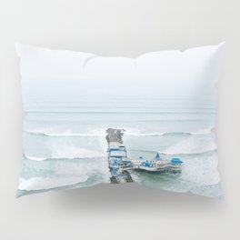 View off the Coast of Miraflores, Lima, Peru Pillow Sham