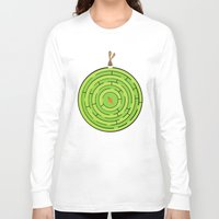 labyrinth Long Sleeve T-shirts featuring Labyrinth by KATUDESIGN