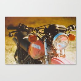 The Bike. Canvas Print
