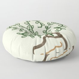 Walking plant Floor Pillow