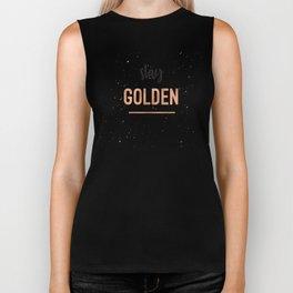 Stay Golden Biker Tank