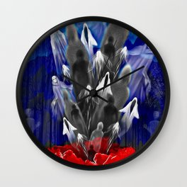 The Phantom Zone Wall Clock