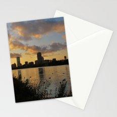 Boston at Sunrise - Massachusetts, New England Stationery Cards