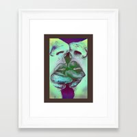 valentines Framed Art Prints featuring Valentines by Kaleidoscopic