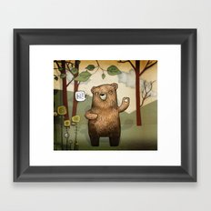 The Little Bear Framed Art Print