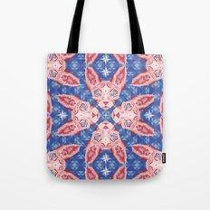 Sphynx Cat - Rose Quartz and Serenity version Tote Bag