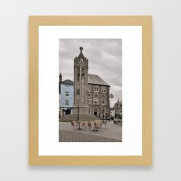 LAUNCESTON WAR MEMORIAL CORNWALL Framed Art Print