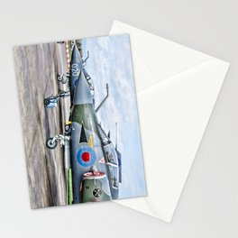 Buccaneer strike aircraft Stationery Cards