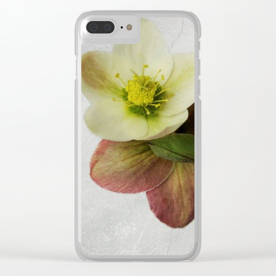 Vintage Helleborus  - JUSTART © Clear iPhone Case