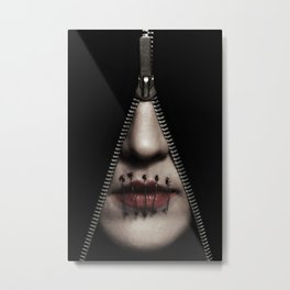 The Harsh And Unpleasant Truth Metal Print
