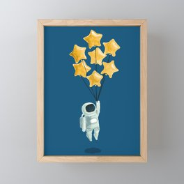 Astronaut's dream Framed Mini Art Print
