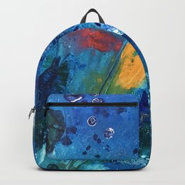 Views of Rainbow Coral, Tiny World Collection Backpack