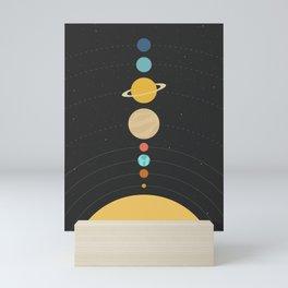 Solar System Mini Art Print