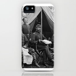 George Sykes and Staff iPhone Case