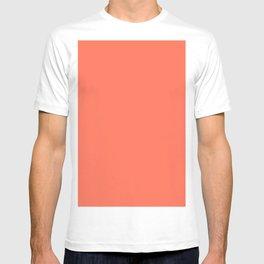 Simply Deep Coral T-shirt