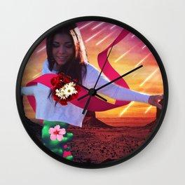 Floating Beauty Wall Clock