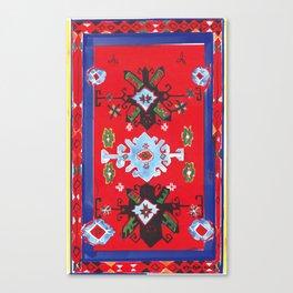 Caucasian rug Canvas Print