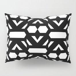 LETTERNS - N - Wide Latin Pillow Sham